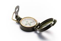 Measuring instrument caompass Royalty Free Stock Photos
