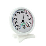 Measuring instrument of temperature and humidity Stock Photo