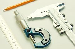 Free Measuring Instruments Royalty Free Stock Image - 50544686