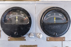 Measuring instruments on the ship Royalty Free Stock Images