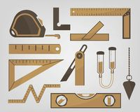 Measuring instruments Royalty Free Stock Photos