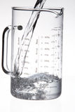 Measuring jar Royalty Free Stock Images