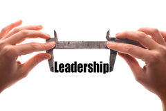 Measuring leadership Royalty Free Stock Images
