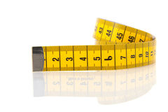 Measuring lint Royalty Free Stock Photography