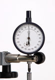 Measuring Micrometer. On white background royalty free stock image