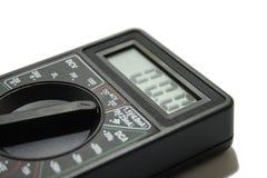 Measuring multimeter. Instrument on the white background stock image