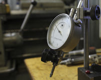 Measuring precision instruments instrument dial indicator Royalty Free Stock Images