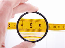 Measuring ruler Royalty Free Stock Photos
