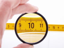Measuring ruler Stock Photos