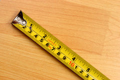 Measuring scale stock photo