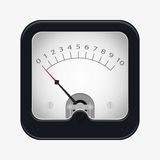 Measuring scale illustration. Measuring scale concept. Flat  stocl illustration Royalty Free Stock Photography