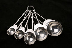 Measuring spoons Stock Photography