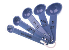 Measuring spoons Royalty Free Stock Photography