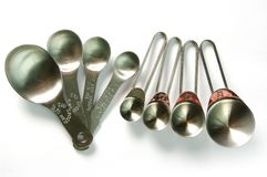 Measuring Spoons Royalty Free Stock Photos