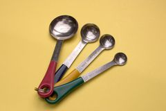 Measuring spoons Stock Image