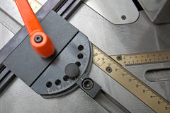 Measuring Table Stock Photo