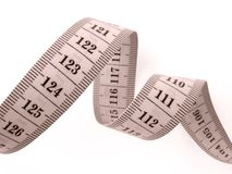 Measuring tape Royalty Free Stock Photos