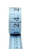 Measuring tape. On isolated background with clipping path royalty free stock photos