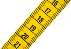 Measuring tape 2 Royalty Free Stock Images