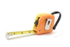 Measuring Tape. On White Background Stock Image