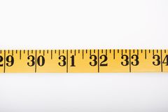 Measuring tape. Royalty Free Stock Image