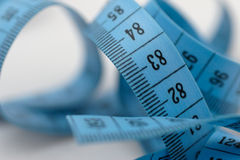 Measuring tape. Roll Stock Photo