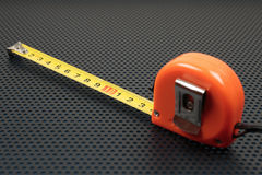 Measuring tape on a background Stock Photography
