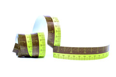 Measuring tape Stock Image