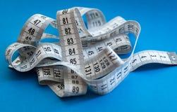 Measuring tape. Royalty Free Stock Photo