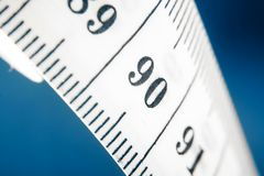 Measuring tape close-up Stock Image