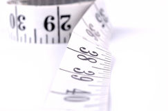 Measuring tape close up Stock Photo