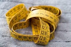 Measuring tape Stock Image