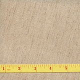 Measuring tape on fabric Royalty Free Stock Images