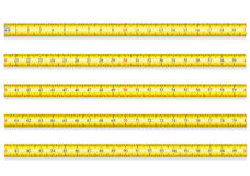 Measuring Tape For Tool Roulette Vector Illustration EPS 10 Royalty Free Stock Photos