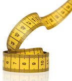 Measuring tape isolated Stock Photos