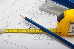 Measuring tape Royalty Free Stock Image