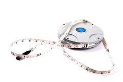 Measuring tape roll Stock Images