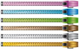 Measuring Tape Set of 6 Royalty Free Stock Photography