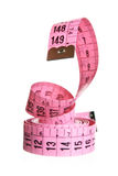 Measuring tape - snake Royalty Free Stock Photos