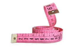 Measuring tape - snake royalty free stock images
