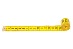 Measuring tape of the tailor Stock Images