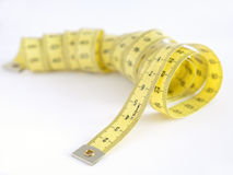 Measuring tape of the tailor Royalty Free Stock Images
