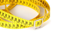 Measuring tape of the tailor Royalty Free Stock Photos