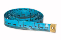 A measuring tape. Stock Photo
