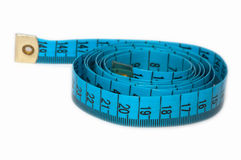 A measuring tape. Royalty Free Stock Image