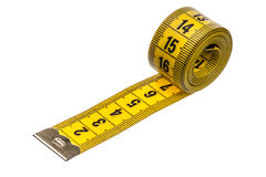 Measuring tape of the tailor Stock Photo
