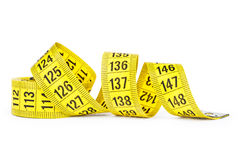 Measuring tape  of the  tailor Stock Photos