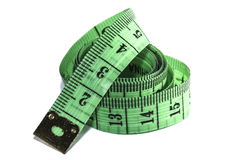 Measuring tape of the tailor Royalty Free Stock Photography