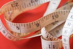 Close Up Tailor Measuring Tape Stock Photos