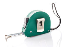 Measuring tape for tool roulette Stock Image